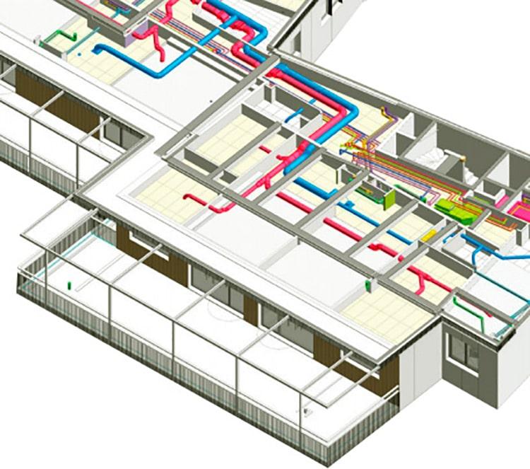 Plan transport tube pneumatique - Transport d'argent