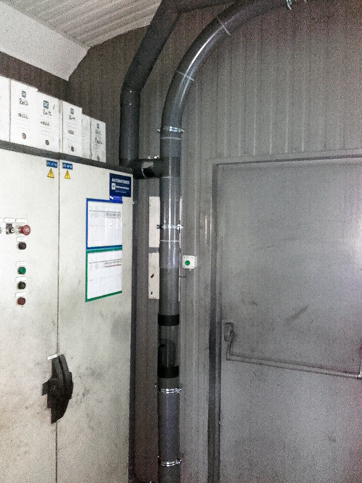 Chantier TRB - Station tubes pneumatiques